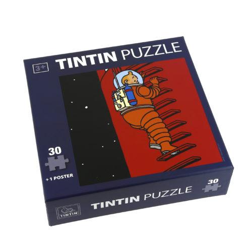 """PUZZLE TINTIN LUNE """"ÉCHELLE"""""""