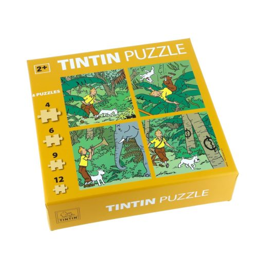TINTIN PUZZLE JUNGLE