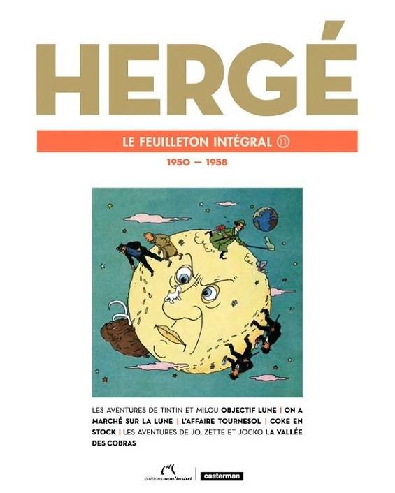 LE FEUILLETON INTEGRAL HERGE
