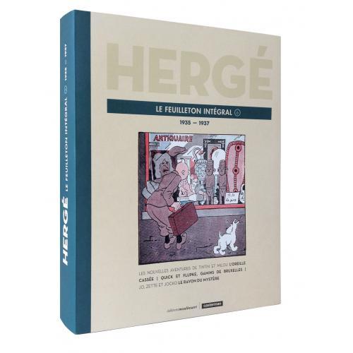 HERGÉ, FEUILLETON INTÉGRAL N°6