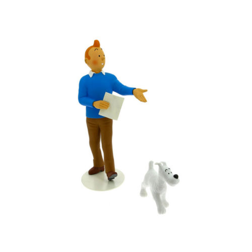 TINTIN ET MILOU, MUSEE IMAGINAIRE