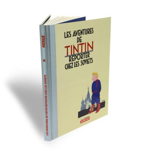 TINTIN CHEZ LES SOVIETS COULEUR, VERSION LUXE