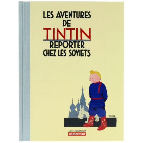 TINTIN CHEZ LES SOVIETS, COULEUR, VERSION LUXE