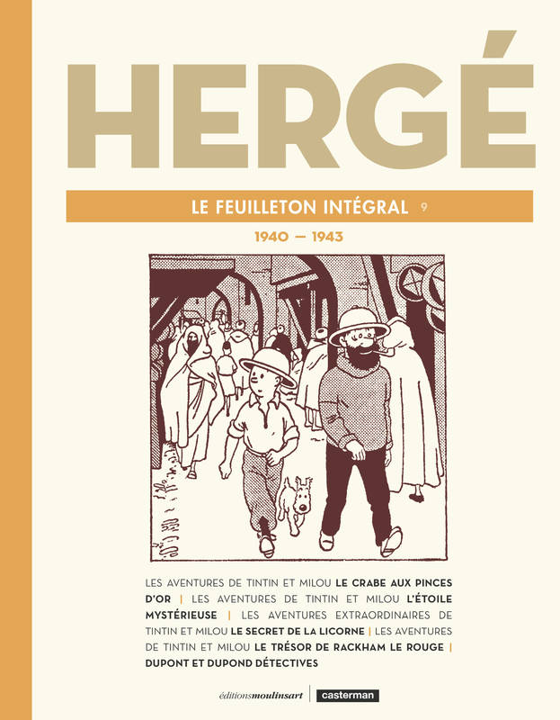 FEUILLETON INTÉGRAL HERGE N°9