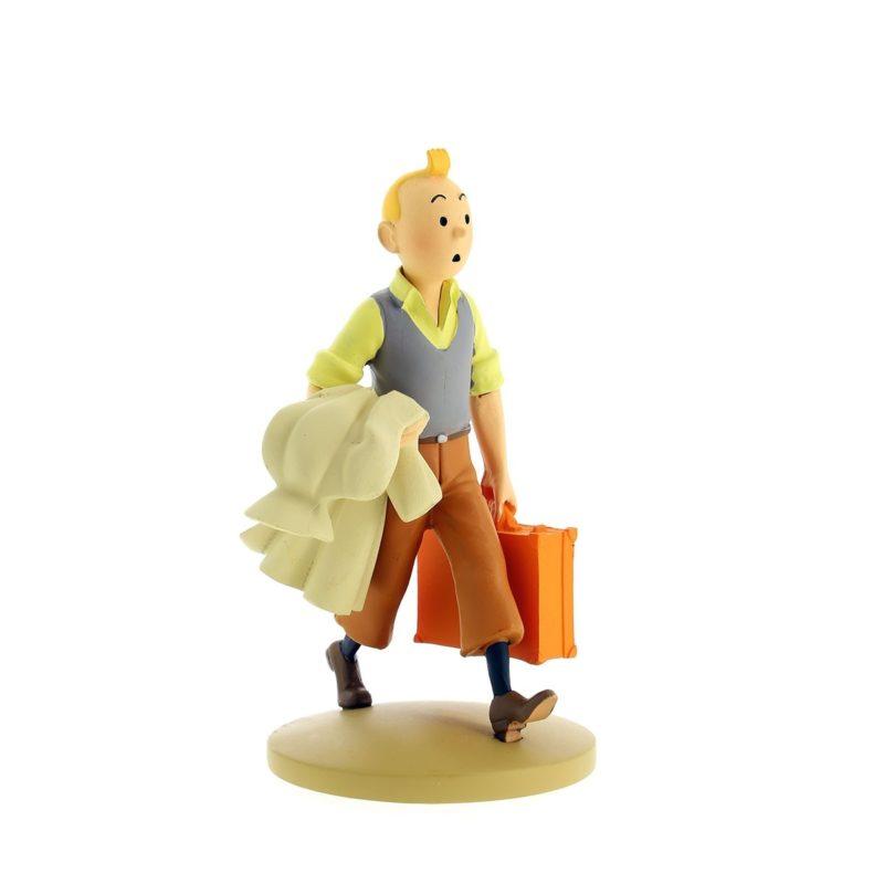 Figurine Tintin en route