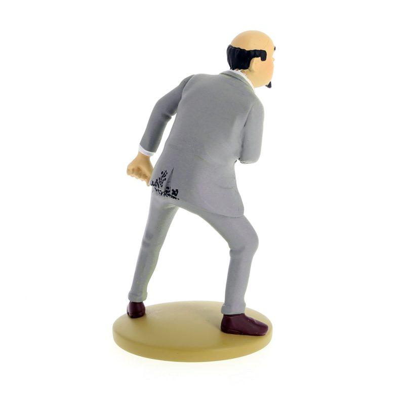 Figurine Tintin Muller Incendiaire
