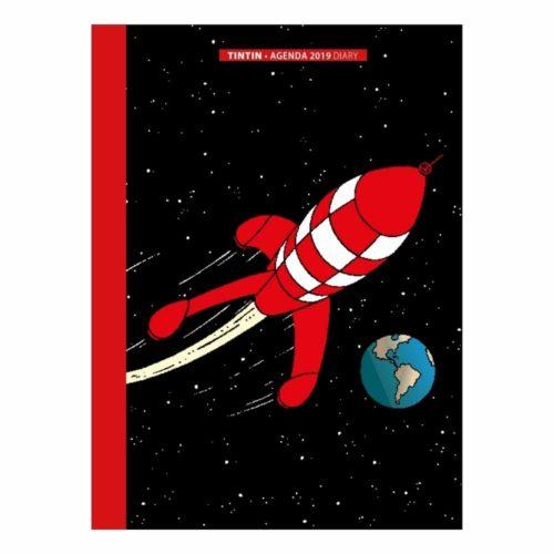 Agenda de poche Tintin 2019