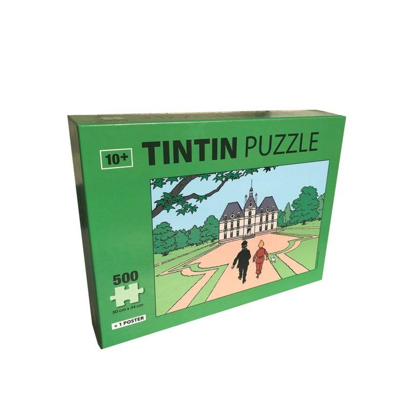 Puzzle Tintin Château de Moulinsart