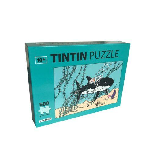 Puzzle Tintin Requin