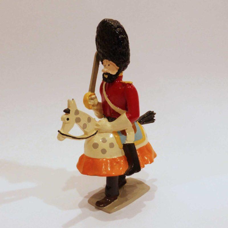 Figurine Pixi, Haddock à cheval-jupon