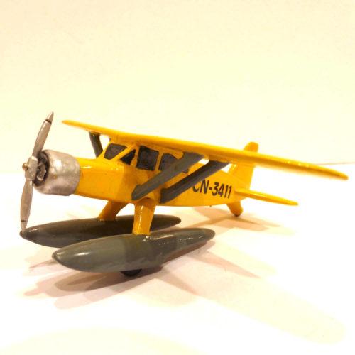 Hydravion jaune Tintin