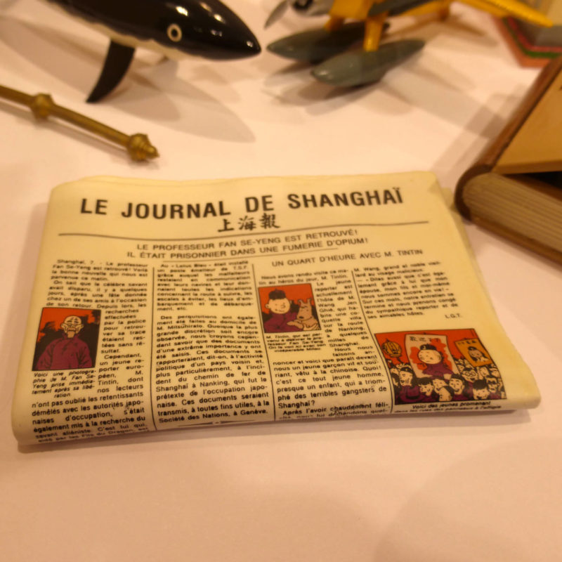 le journal de Shanghaï, Pixi