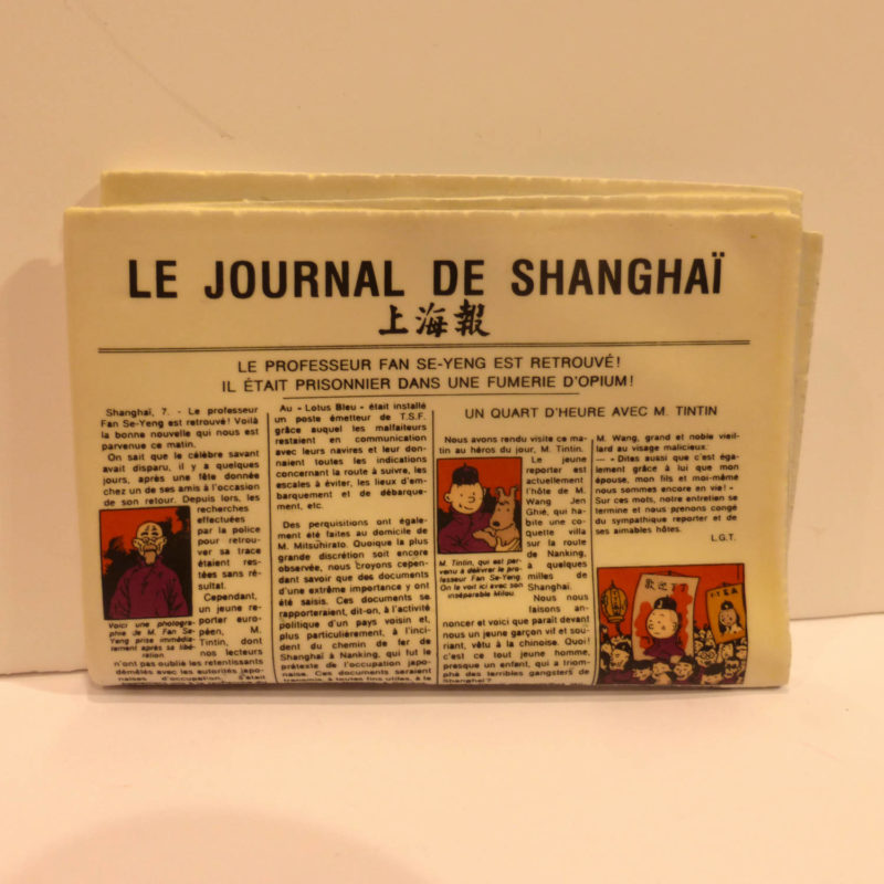 le journal de Shangaï Tintin