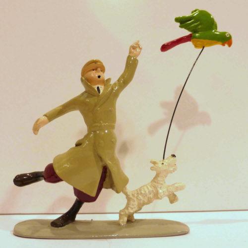 Pixi Tintin et le perroquet