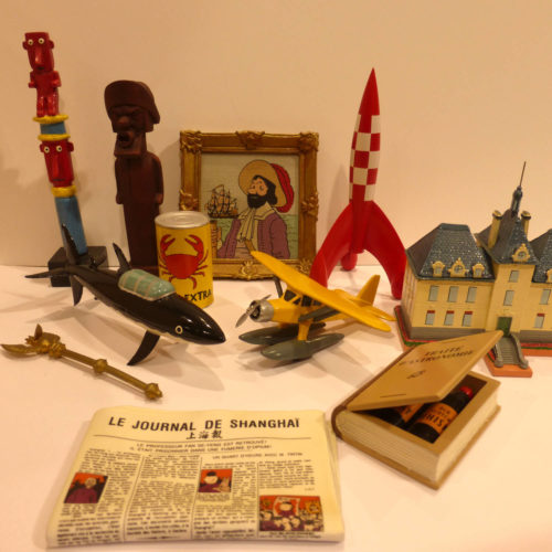 Collection Objets du Mythe Tintin