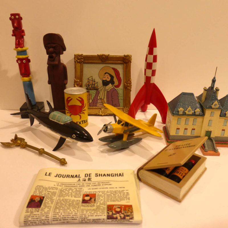 Collection Objets du Mythe Tintin