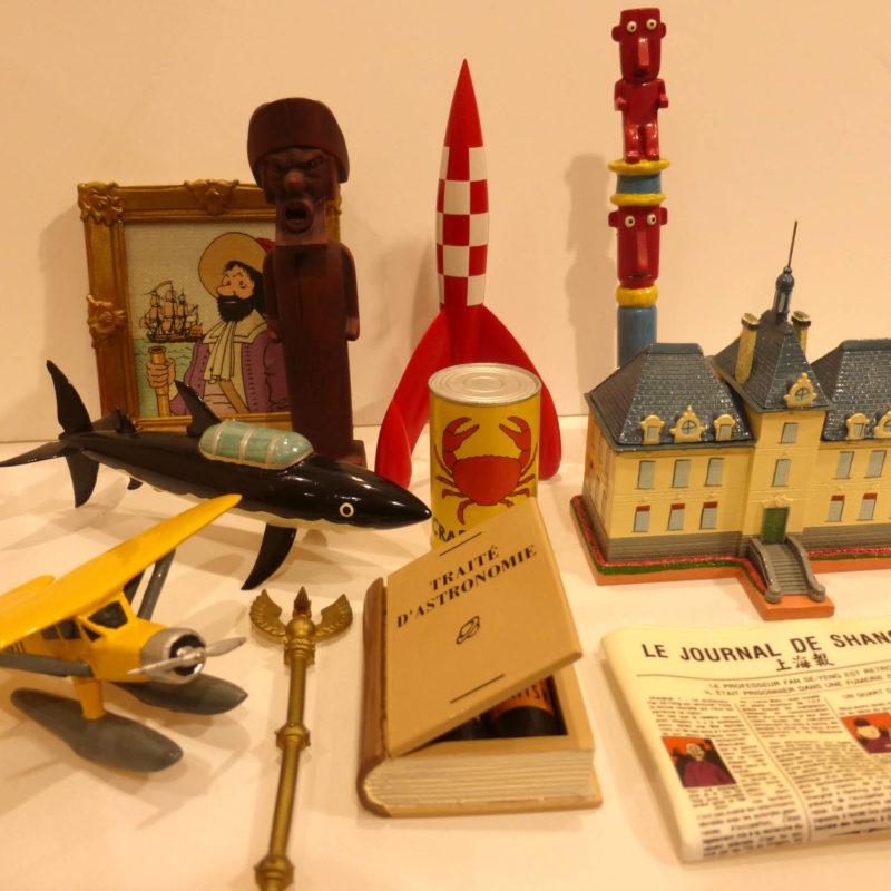 Pixi, Objets du Mythe Tintin