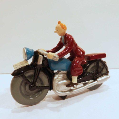 TINTIN SUR LA MOTO