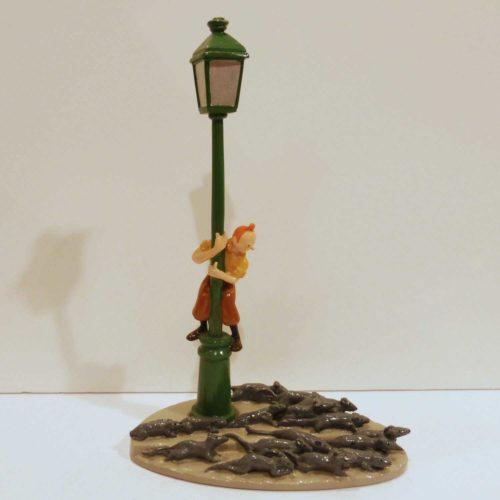 Tintin, le réverbère et les rats, Etoile Mystérieuse,