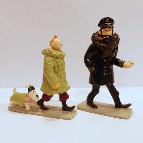 Tintin, Haddock et Milou, l'Etoile mystérieuse
