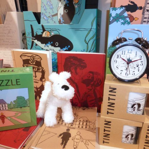 Accessoires Tintin