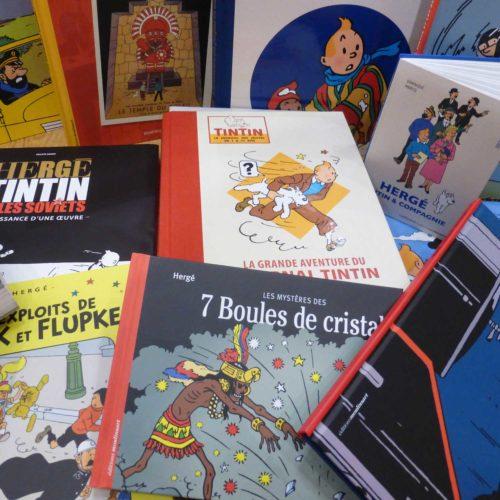 Librairie, papeterie Tintin