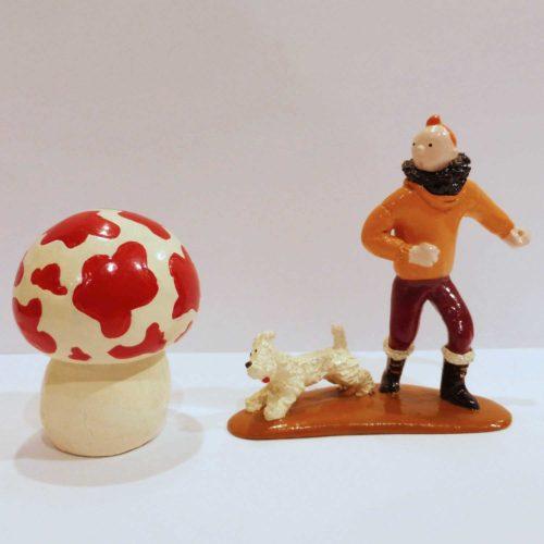 Tintin, Milou et le champignon, l'Etoile mystérieuse