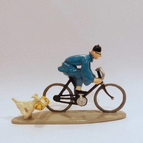 Tintin et Milou à vélo, Lotus Beu