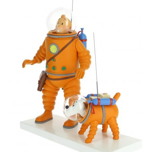 figurine-tinin-milou-cosmonaute