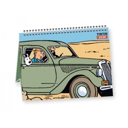 Calendrier à poser Tintin 2020