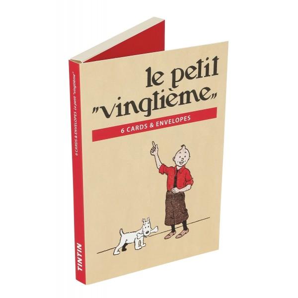 set cartes postales petit vingtième | Espace Tintin Montpellier